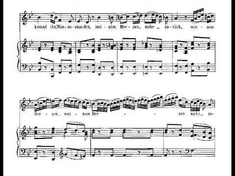 Pamina's aria - Ach, ich fuhl's from Zauberflote - Piano