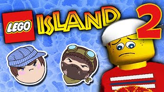 Lego Island: Personal Space - PART 2 - Steam Train(Embrace the fever dream! Your conductors are: Ross: http://www.YouTube.com/RubberNinja and Barry the Coal Shoveler: http://www.Twitter.com/Razzadoop., 2014-12-17T20:00:12.000Z)