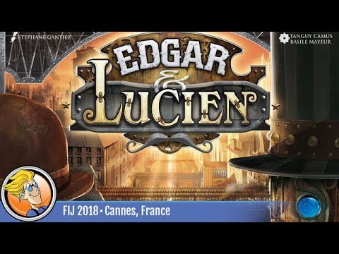 Edgar & Lucien — game preview at FIJ 2018 in Cannes