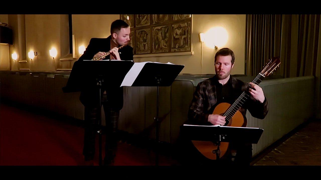 Above the Atlantic, Ovanför Atlanten - Concert for Flute and Guitar