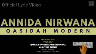 NEW SINGLE SONG ASMA-MU - QASIDAH MODERN ANNIDA NIRWANA 2020 (OFFICIAL LYRIC VIDEO)