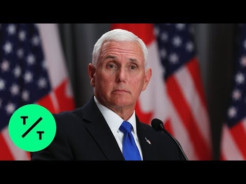 Pence Says Mexico Tariffs Still Set For Monday As Talks Continue