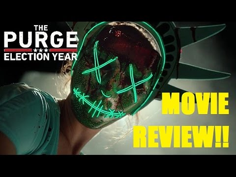The Purge: Election Year Movie Review (with a Special Guest!!)