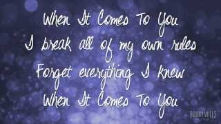 When It Comes To You - Bobby Wills (Official Lyric Video)