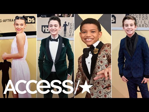 'Stranger Things' & 'This Is Us' Kids Rock The Red Carpet At The 2018 SAG Awards | Access
