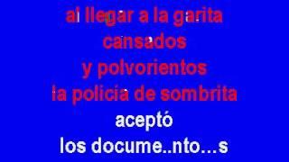 Chalino Sanchez Contrabando en la frontera Norteño Karaoke
