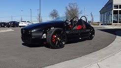 2018 Vanderhall Venice Custom in Black for Sony & Engine Sound on My Car Story with Lou Costabile