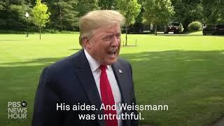 WATCH: 'You're untruthful' Trump tells Yamiche Alcindor