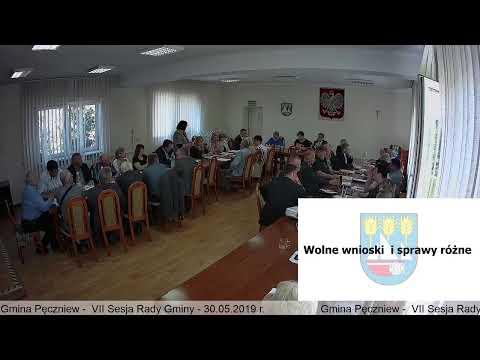 Gmina Pęczniew – VII Sesja Rady Gminy Pęczniew