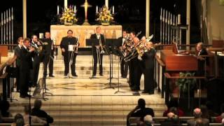 "Composer Zeljko Marasovich - ""Constellations"" for trombones and pipe organ"