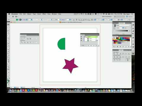 Adobe Illustrator CS5 Tutorial - How To Use the Pathfinder Tool