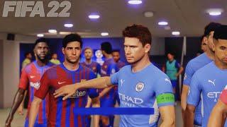 Barcelona vs Manchester City Feat. Aguero, Depay, Messi, Fati, - UEFA Champions League FINAL