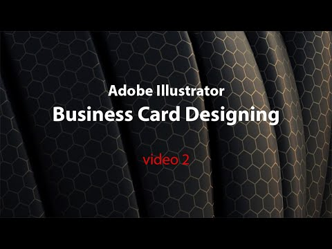 Business Card Designing in Adobe Illustrator - Video 2 - dpanel Online tutorials