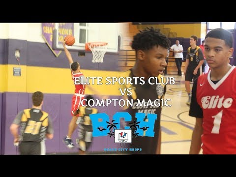 Top 8th Graders Skyy Clark, Amari Bailey & Kijani Wright! | Compton Magic vs Elite Sports Club