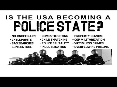 Civilization Under Surveillance - The Rise Of The Police State Exposed