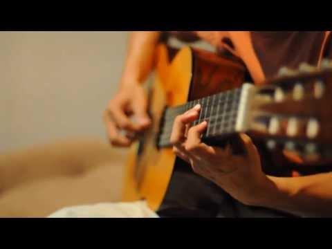 Ruth Sahanaya - Kaulah Segalanya on classical guitar