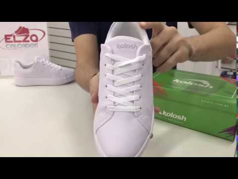 9bef3e9b189 Tênis Casual Feminino Branco Original Dakota Kolosh C1321 Elza Calçados