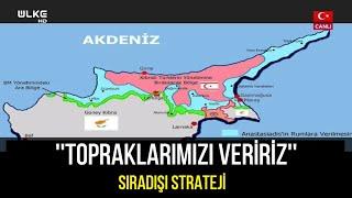 Mustafa Akıncı'nın başucundaki ''malum'' Kıbrıs haritası – Sıradışı Strateji
