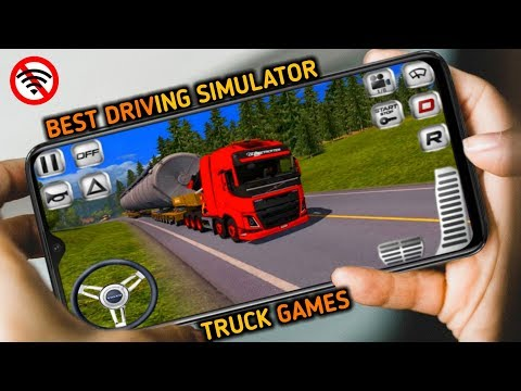 Top 5 Best Truck Simulator For Android & IOS | Truck Games | Best Driving Games For Android