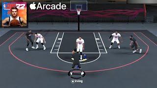 NBA 2K22 Arcade Edition Apple Arcade Gameplay - Blacktop 3v3 Lakers VS Nets