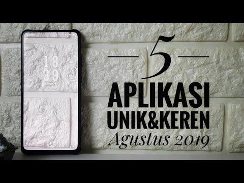 5 Aplikasi Android Unik Dan Keren Agustus 2019 🔥🔥(#1) BEST ANDROID APPS AUGUST 2019