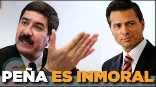 Peña Nieto distorciona la realidad : Javier Corral