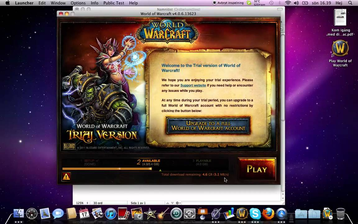 Download wow client for mac helppublications's blog.