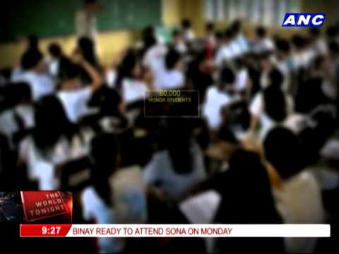 'Iskolar ng Bayan' law to take effect this school year