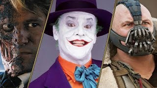 All Batman movie villains RANKED!
