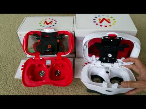 360 3D Headset View-Master Starter Pack vs. V-M Deluxe VR Viewer Comparison Review Full HD 2017