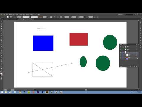 Adobe Illustrator CS6 for Beginners - Tutorial 58 - Layer Basics