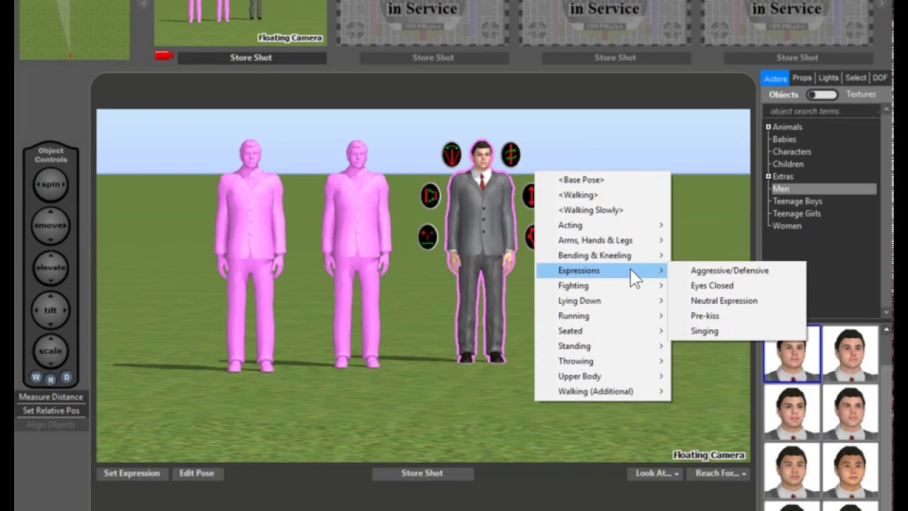 FrameForge 4 | New Cloning Functions | Storyboard Software - YouTube