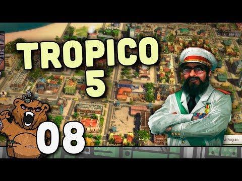 A Era Fria - Tropico 5 #08 - Gameplay Português PT-BR