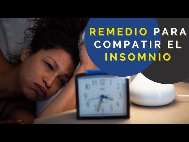 Remedio Casero para el INSOMNIO - El Aviso Magazine