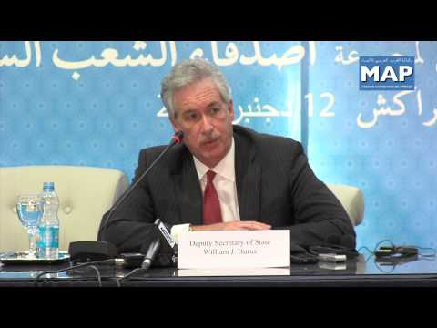 William Burns: We highly value Morocco