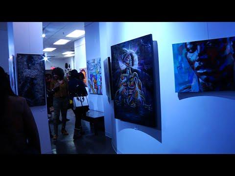 Afropop, Exposition d'art visuel