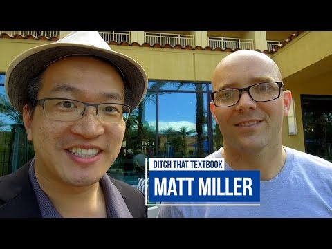 CUE 2018 Palm Springs 🌴 with Keynote 📢 Matt Miller