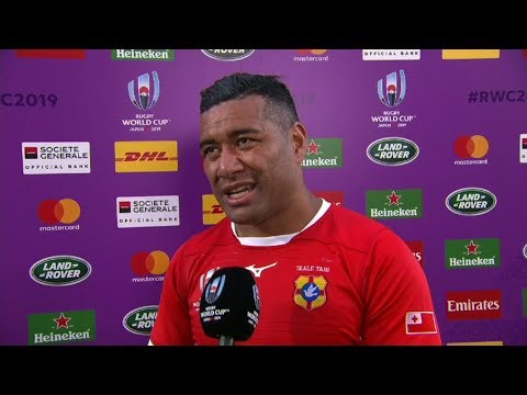 Rugby World Cup | USA v Tonga | Post-match interview with Siale Piutau