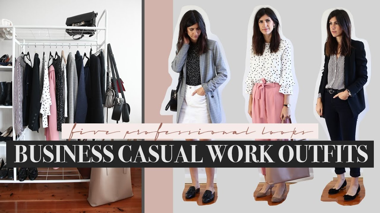 Business Smart Casual Workwear Outfits 5 Autumn Professional Work Mademoie