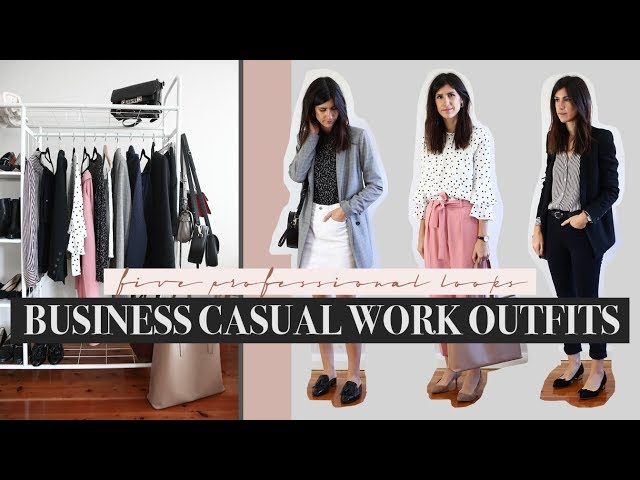 Business Smart Casual Workwear Outfits