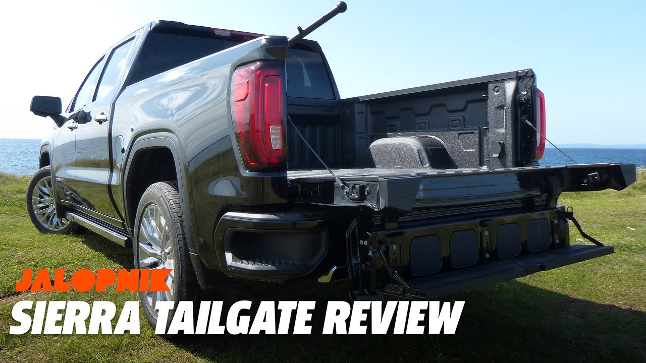 2019 Gmc Sierras Six Way Multipro Tailgate Review Youtube Old Chevy Truck Tailgates