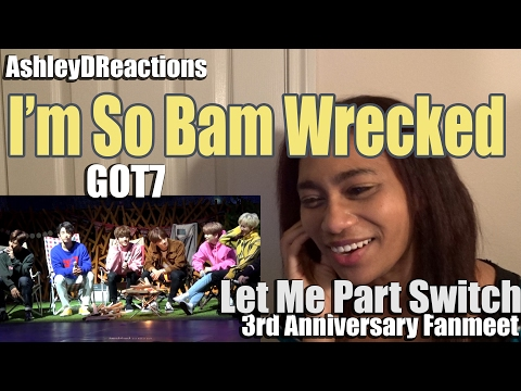 GOT7 Let Me Part Switch 3rd Anniversary Fanmeet Reaction