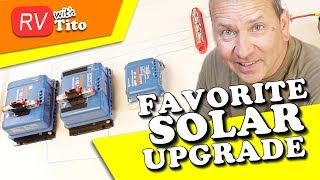 Parallel MPPT Charge Controllers in Tiny Space // How to // Solar // RV