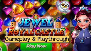 Jewel Royal Castle: Match3 puzzle (by ENP Games) - Android / iOS Gameplay screenshot 2