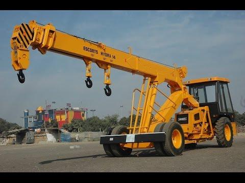 Conventional Hydra 14 Pick & Carry Crane Intro
