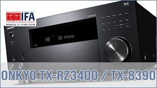 Onkyo TX-8390 Stereo-Receiver …