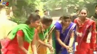 Bhatukamma Celebrations In Khammam