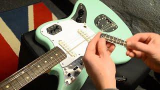 How To fit a Mustang Bridge on Fender Jazzmaster Jaguar