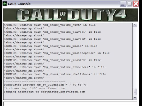 How to put mods on your Cod 4 Server