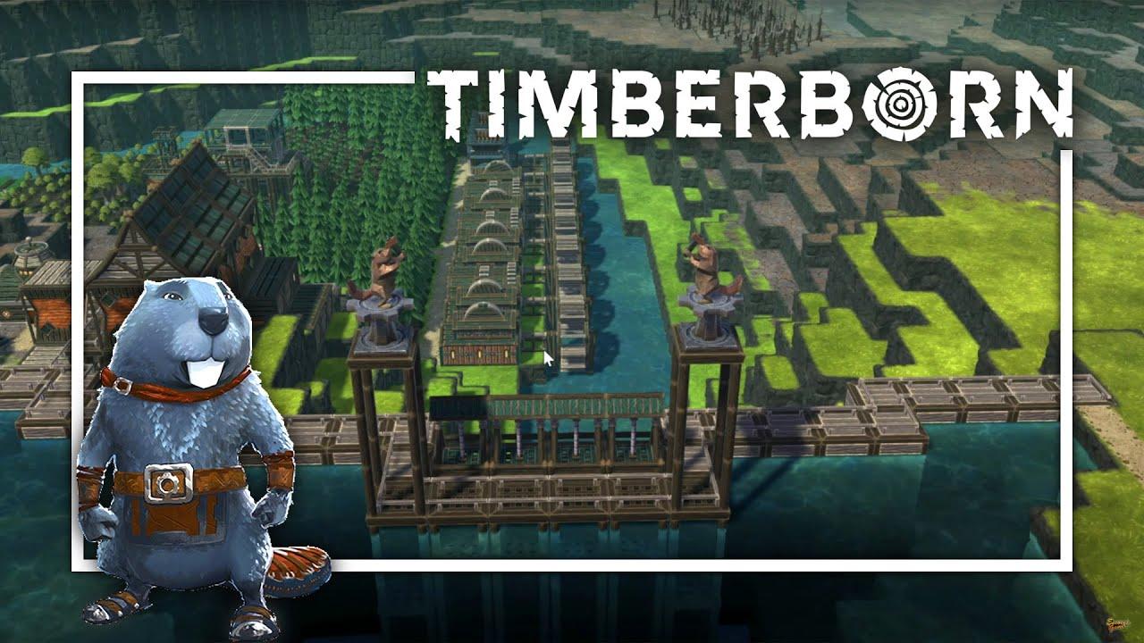 Download Comenzamos con la INDUSTRIA PESADA - TIMBERBORN Gameplay Español T2 Ep7